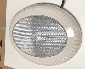Replacement Oval Pool Light 12Vac, 1m lead